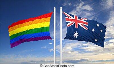 australia gay flag