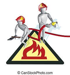 Fireman sign