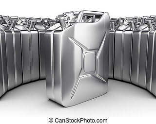 3D rendering jerrycan