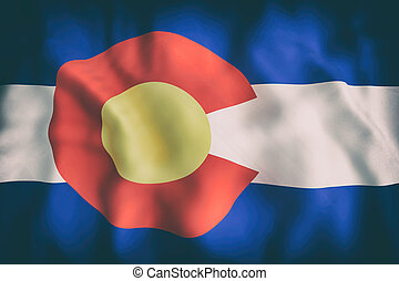 Colorado State flag