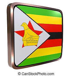 Republic of Zimbabwe flag icon