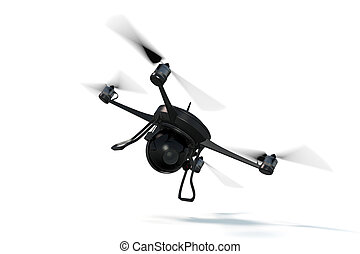 3D Rendering of a Small Drone