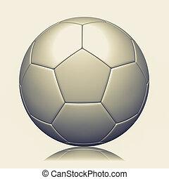 3d rendering of a soccer ball