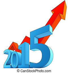 3D rendering of a upturn 2015 concept
