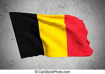 old belgium flag