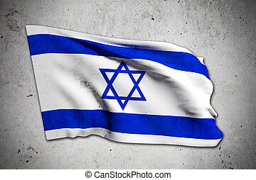 old Israel flag