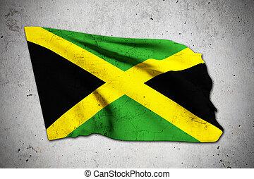old jamaica flag