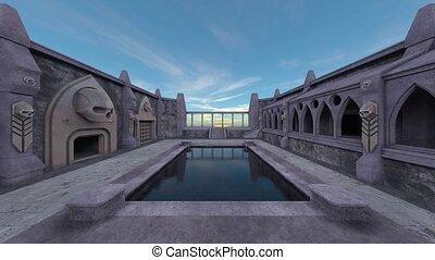 3D rendering of Historic Castle