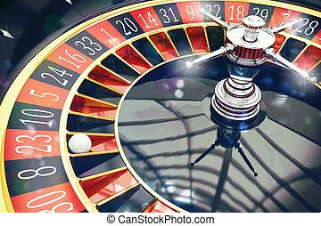 3D Rendering of roulette