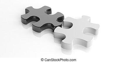 3d rendering puzzle