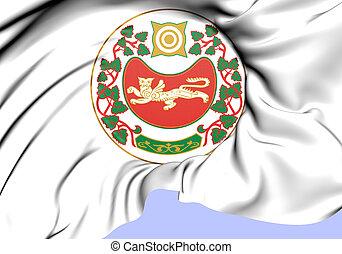 3D Republic of Khakassia Coat of Arms, Russia. 3D ...