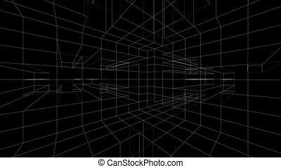 3D Revolving Grid