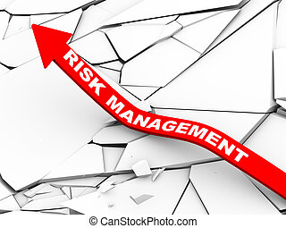 3d risk management rising arrow