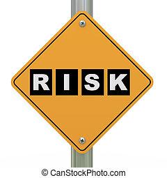 3d road sign risk