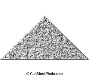 3D Rock Pyramid