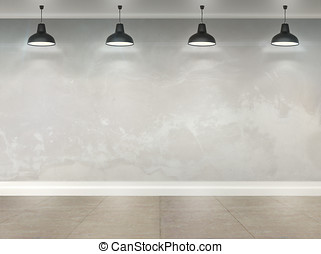 3d room with ceiling lamps - 3d wallpaper room with ceiling...