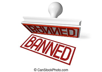 3D rubber stamp - banned