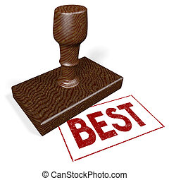 3D rubber stamp - best