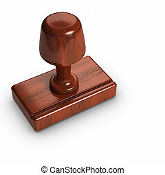 Rubber stamp - 3D - Rubber stamp.
