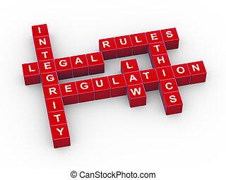 3d rules crossword