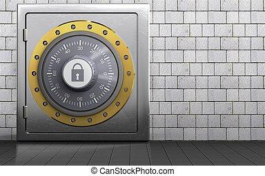 3d safe metal safe