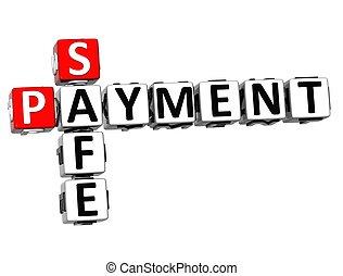 3D Safe Payment Crossword