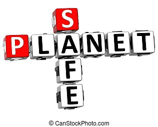 3D Safe Planet Crossword