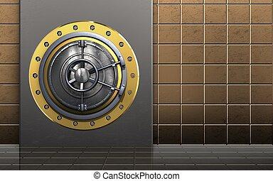 3d safe wheel door
