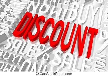 3D sale - discount