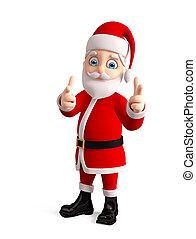 3d, santa, ∥ために∥, クリスマス