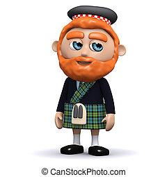 3d Scotsman