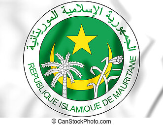 3D Seal of the Mauritania.