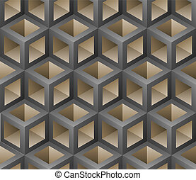 3d seamless pattern vector