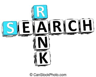 3D Search Rank Crossword cube words