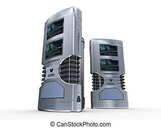 3d server