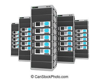 3d, servers