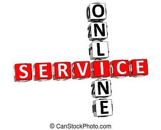3D Service Online Crossword