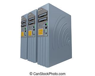 3d, servidores, #3