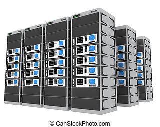 3d, servidores