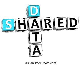 Shared services center ssc concept businessman click on text 3d shared data crossword publicscrutiny Gallery