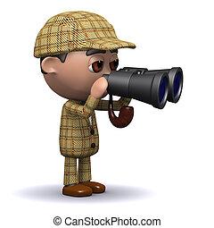 3d Sherlock binoculars