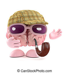 3d Sherlock brain