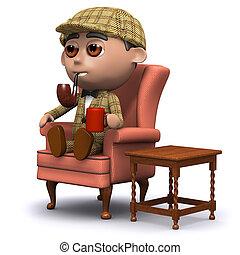 3d Sherlock home