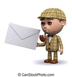 3d Sherlock mail