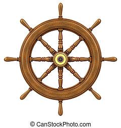 3d Ships wheel