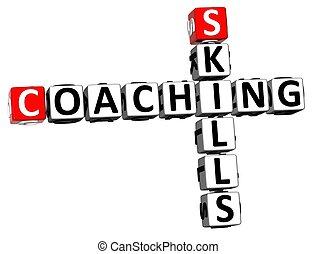 3D Skills Coaching Crossword