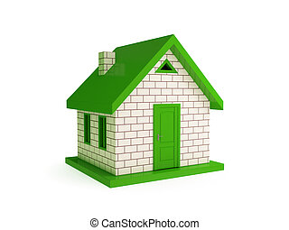 3d small house.