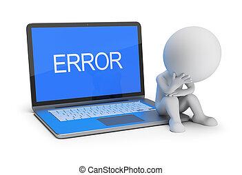 3d small people - error