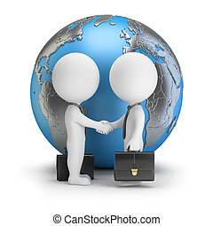 3d small people - global deal