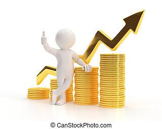 3d small people - Good profit